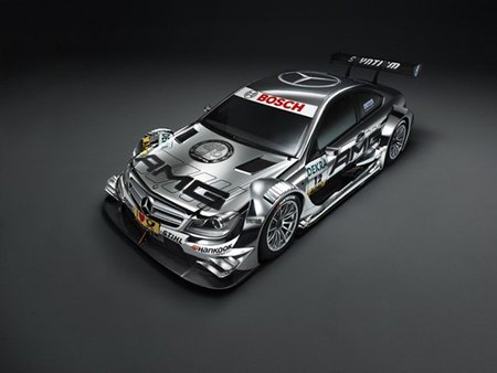 Mercedes-Benz Clase C Coupé AMG, versión DTM