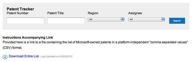 Patent Tracker