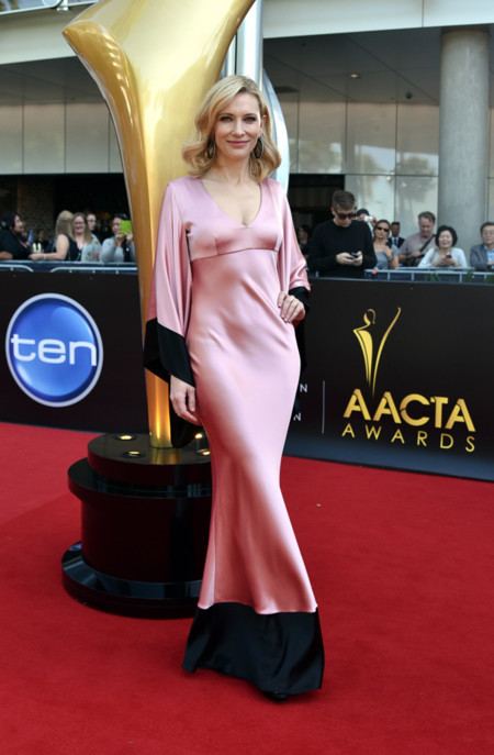 Cate Blanchett Alexander Mcqueen vestido