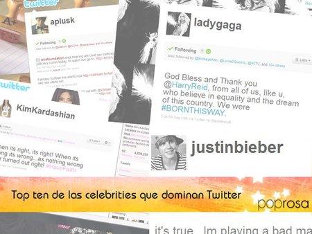 El Top Ten de las celebrities que dominan Twitter (Segunda Parte)