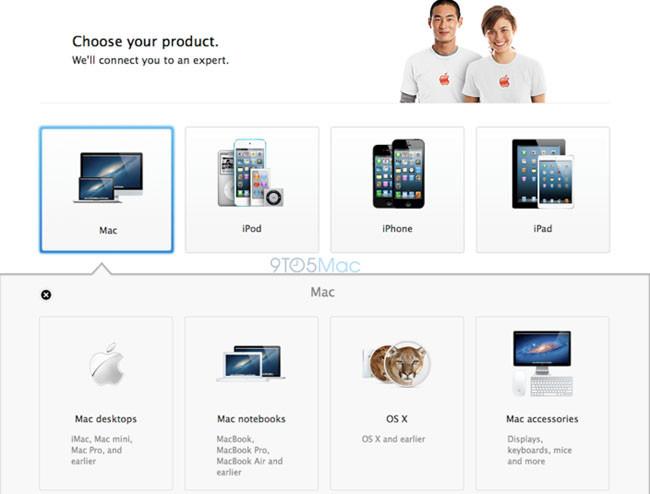 Apple prepara un chat online con expertos para su AppleCare