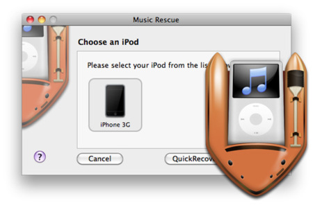 Music Rescue, recupera la música de tu iPod o iPhone