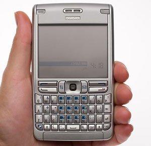 Nokia E61, el vídeo