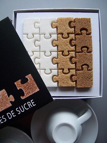 Puzzle diversos azúcares