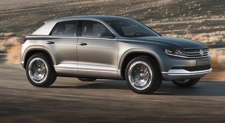 Volkswagen Cross Coupé Concept, listo para Tokio