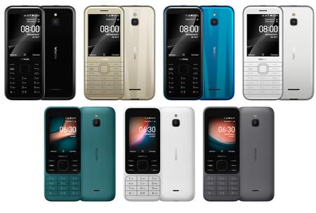 Nokia 6300 Nokia 8000 4g Oficial Diseno