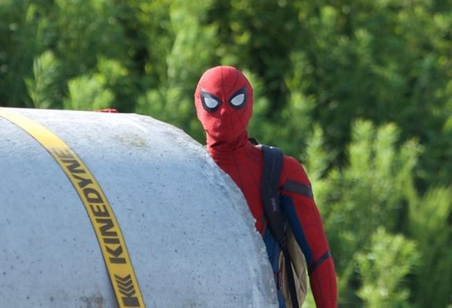 Tom Holland como el nuevo Spider Man