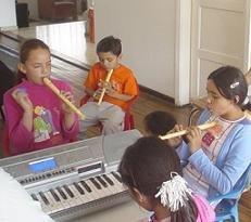 La educación musical, muy adecuada para los niños