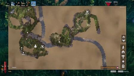 Valheim cómo crear mesa cartográfica