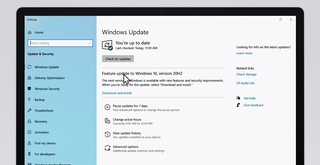 Windows 10 October 2020 Update ya está disponible: así es y así podrás instalarla