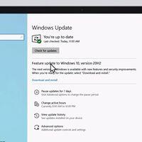 Windows 10 October 2020 Update ya está disponible: así es y así podrás instalarla