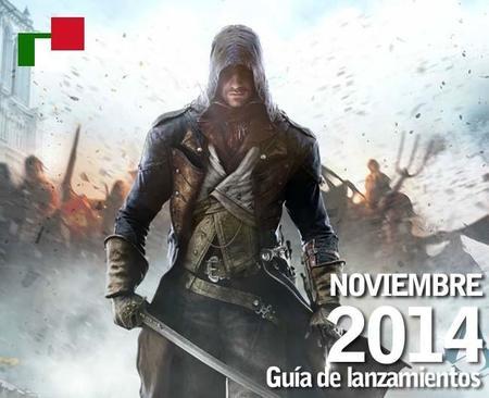 Guía de lanzamientos mensuales en México: noviembre 2014