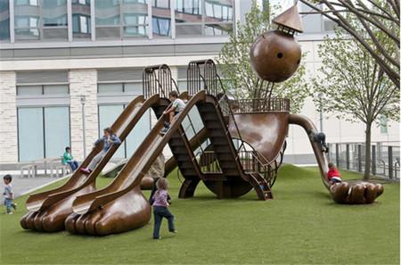 Silver Towers Playground