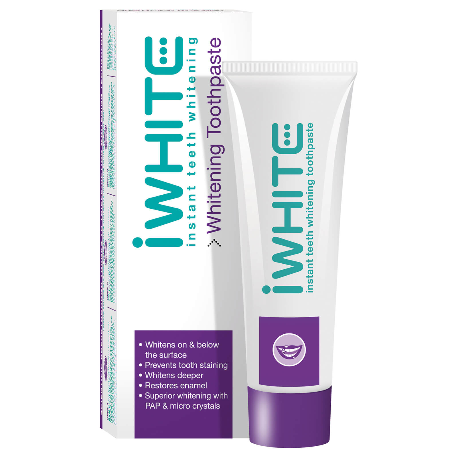 Dentífrico blanqueante instantáneo iWhite