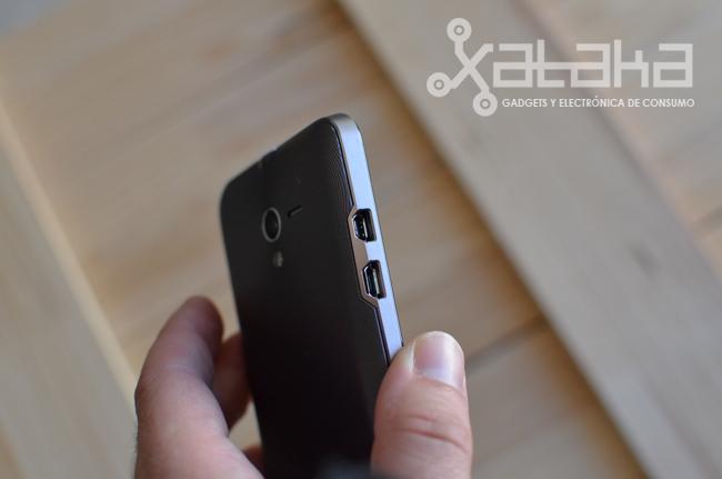 Botones táctiles para Android