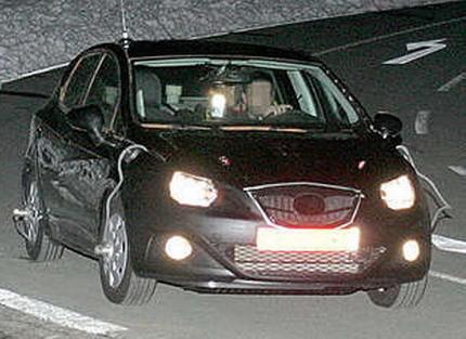Más fotos espía del Seat Ibiza 2009