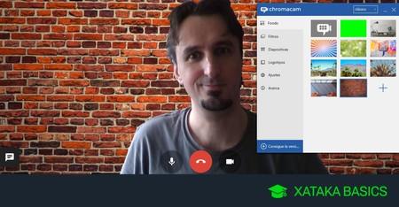 Cómo cambiar el fondo en Hangouts para ocultar lo que hay detrás de ti