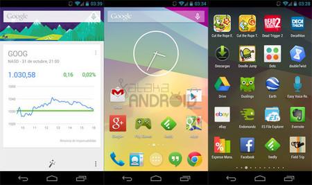 Google Now Launcher llega a Google Play, aunque sólo compatible con Nexus y Google Play Edition