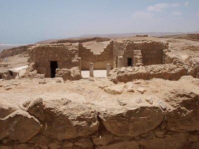Israel: la fortaleza de Masada