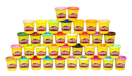 Mega Pack De 36 Botes Play Doh