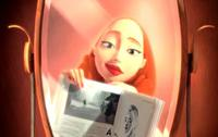 Una mujer frente al espejo: ficción real como la vida misma