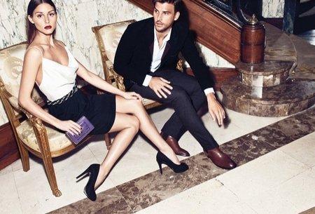Olivia Palermo y su novio, dos buenorros de cuidado posando para Mango