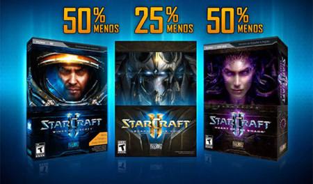 Blizzard tiene en oferta la trilogía de StarCraft II por tiempo limitado