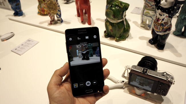 Conectividad Samsung NX500