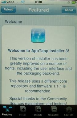 Actualización de Installer.app a la versión 3.03B