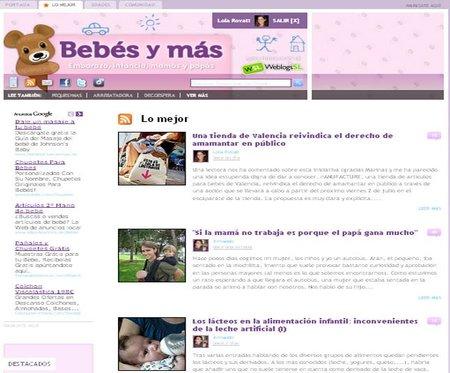 Nueva pestaña con 'Lo mejor' de Bebés y más y comentarios con Facebook