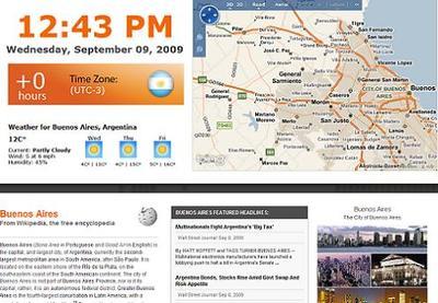 Localti.me: hora, clima, fotos, mapas y más sobre el destino elegido