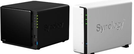 Renovados NAS de Synology DS412+ y DS112 para entornos de empresa