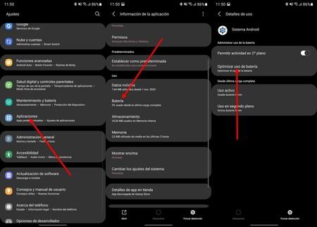 Restricciones Apps Samsung One Ui
