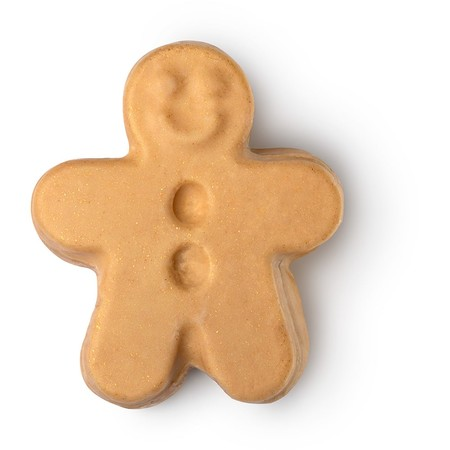 Lush Gingerbread Man Sparkle Jar