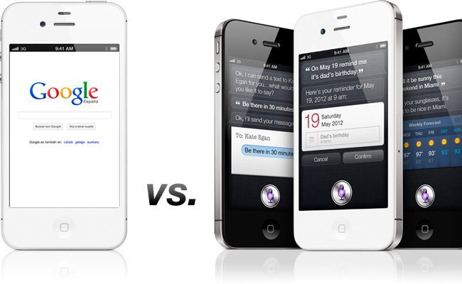 Apple Siri vs Google