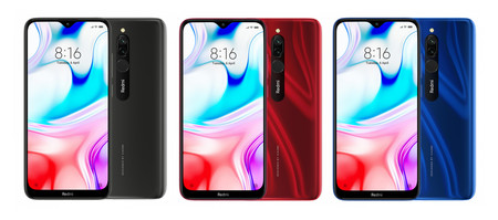 Versiones Redmi 8