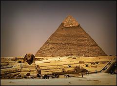 Encuentro gourmet en las pirámides de Egipto