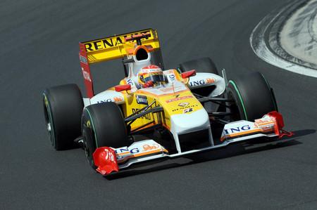 Alonso Renault Hungria 2009 F1