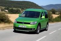 Volkswagen Cross Caddy, una furgoneta ávida de campo