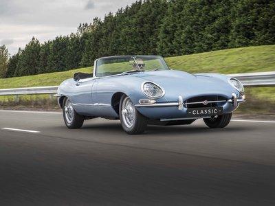 Jaguar E-Type Concept Zero, así es el E-Type original con motor eléctrico