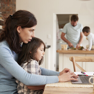 Los problemas de conciliación familiar se convierten este curso en la principal causa de estrés de los padres españoles
