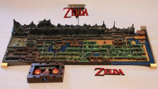 The Legend Of Zelda Mapa 3d