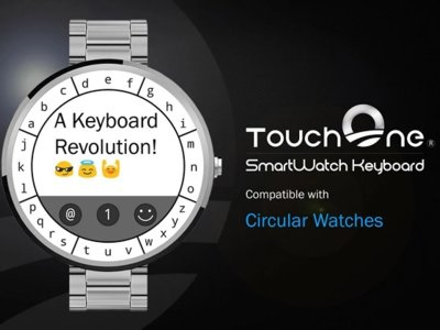 El esperado teclado TouchOne para smartwatches Android Wear, ya en Google Play