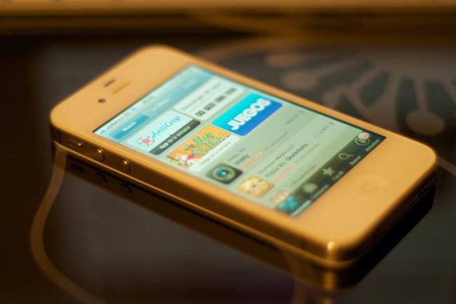 App store en un iPhone