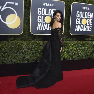 Penélope Cruz deslumbra en los Globos de Oro 2018