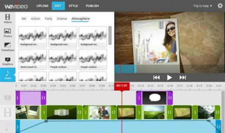 Un vistazo a WeVideo, el editor de vídeos en la nube
