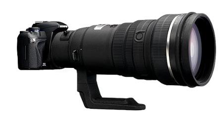 E-420 y zd 300mm