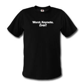La peor Keynote de todas