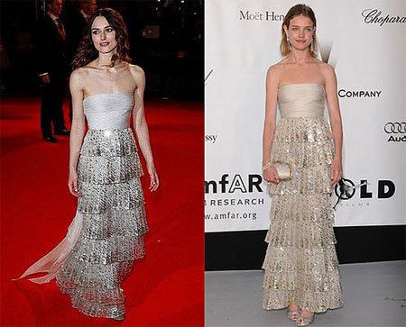 Vestido de Valentino: ¿Keira o Natalia?