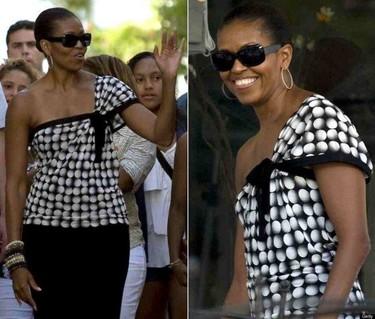 Los looks de Michelle Obama en España. El mundo tras sus pasos